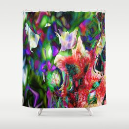 Psychedelic Persuasion Shower Curtain