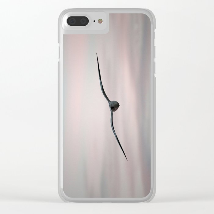 Twilight Seagull Clear iPhone Case