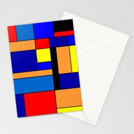 Mondrian #2 Stationery Cards