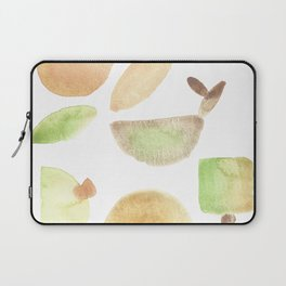 Flow of the moon - earthly abstract minimalism Laptop Sleeve
