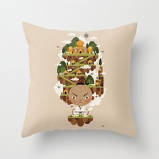PRINCE POO'S PANNA Throw Pillow