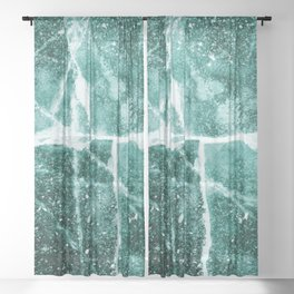 Emerald Ice Sheer Curtain
