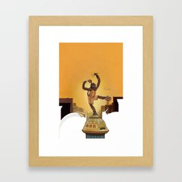 Mighty New Yorker Framed Art Print