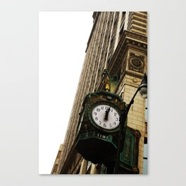 Two Late Canvas Print