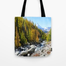 Array of Alps  Tote Bag