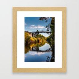 IronBridge Shropshire Framed Art Print