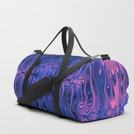 Bubblegum Squid by Chris Sparks Duffle Bag