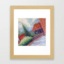 Manassas Junction Train Station Framed Art Print