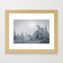 Creatures of oblivion Framed Art Print