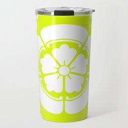 Samurai-Oda family Crest version2 Travel Mug