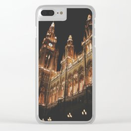 Vienna, city hall Clear iPhone Case