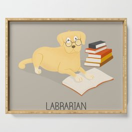The Labrarian Serving Tray