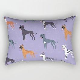 Great Danes Rectangular Pillow