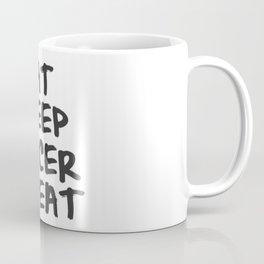 Eat, Sleep, Soccer, Repeat Coffee Mug