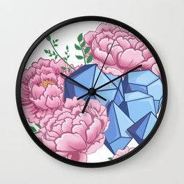 Roll Like A Girl Wall Clock