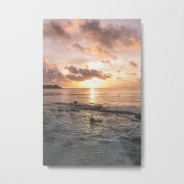 Caribbean Sea, Mayan Riviera Metal Print