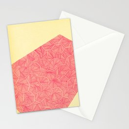 - summer : the monolith is pink - Stationery Cards