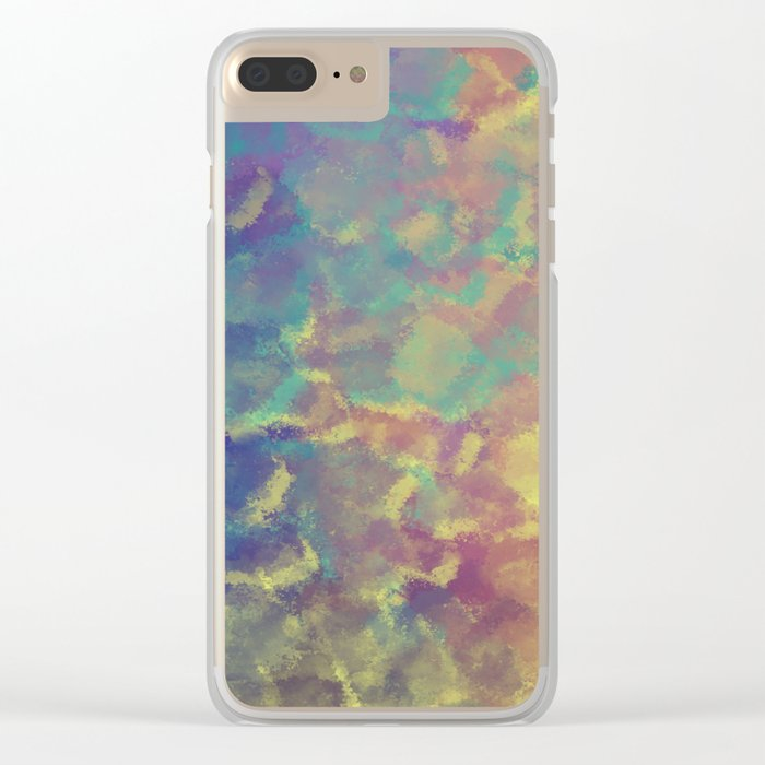 Watercolor Splash #4 #art #society6 Clear iPhone Case