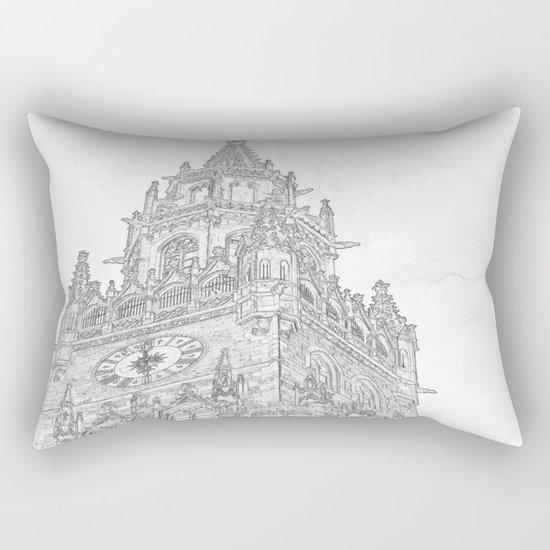 Tower of Big Ben Rectangular Pillow