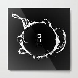 Solar Storm // SUN Metal Print