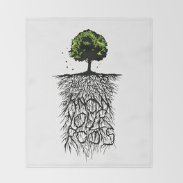 Know your Roots Throw Blanket