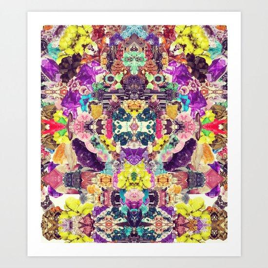 Crystalize Me Art Print