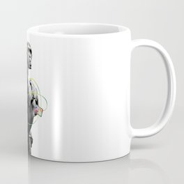 Monkey Listens to Music Coffee Mug