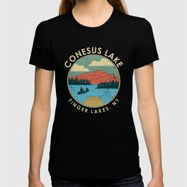 Finger Lakes NY New York Conesus Lake product T-shirt