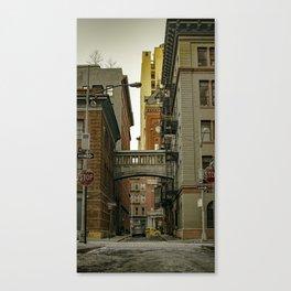 Staple Street Sky Bridge Canvas Print