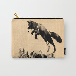 The quick brown fox jumps over the lazy dog Carry-All Pouch