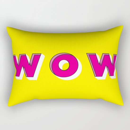 WOW Rectangular Pillow