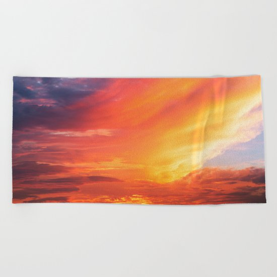 Alternate Sunset Dimensions Beach Towel
