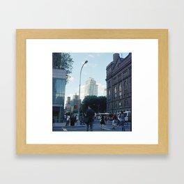 Astor Place Framed Art Print