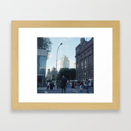 Astor Place Framed Art Print