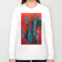 tame impala Long Sleeve T-shirts featuring Tame Before the Storm by Katie Anderson Art