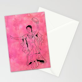 Lupercalia  (Roman dancer with tambourine) Stationery Cards