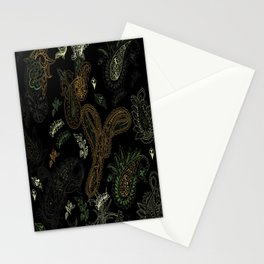 Cactus Garden Paisley 1 Stationery Cards