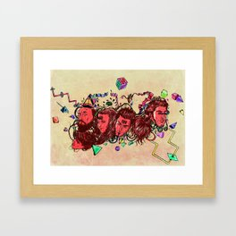 A New Year Framed Art Print