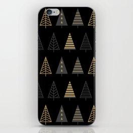MODERN CHRISTMAS TREES 2 iPhone Skin