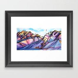Valley of Dreams Framed Art Print