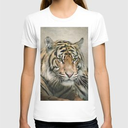 Tiger looking T-shirt