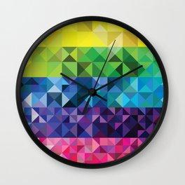 Prismatic Wall Clock