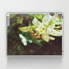 Honey Bee: Emerald Laptop & iPad Skin