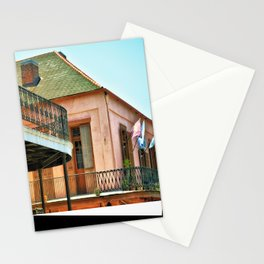 Flags on the Balcony Stationery Cards