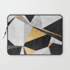 Geometry / Gold Laptop Sleeve