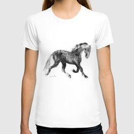 Horse (Friesian Colt) T-shirt
