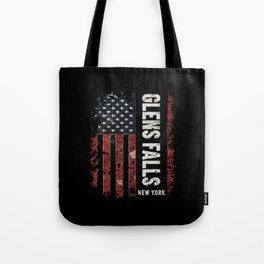 Glens Falls New York Tote Bag