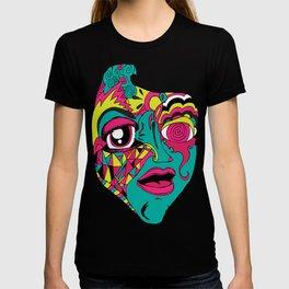 Mohnster_ Self Portrait T-shirt