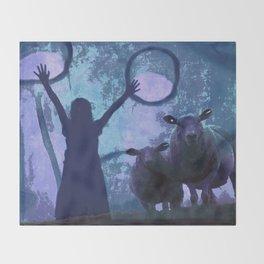 ACTIVATING MAGIC Throw Blanket