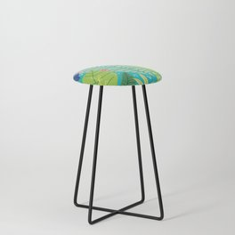 Southern Prepster Charm Counter Stool